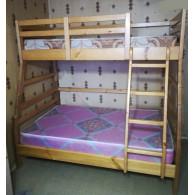 """Кровать двухъярусная """"Семья"""""""
