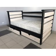 """Кровать с тремя бортиками """"Лотос"""""""